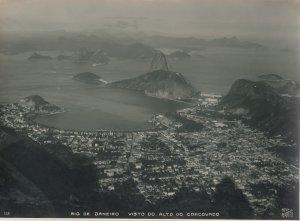 RP: RIO DE JANEIRO, Brazil, 1900-10s; Vista Do Alto Do Corcovado