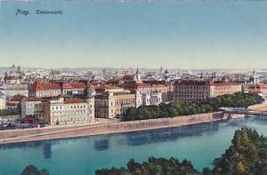 Totalansicht, Bird's Eye View, Prag, Czech Republic, 1900-1910s