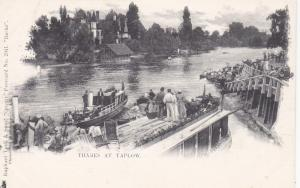 Thames at TAPLOW, Buckinghamshire, England, UK, 1900-10s; TUCK 2041