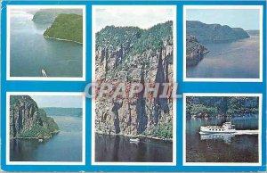 Postcard Modern Marjolaine II Cruises on the Saguenay