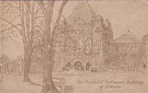 ONTARIO, Canada, 1900-1910's; The Provincial Parliament Buildings Of Ontario