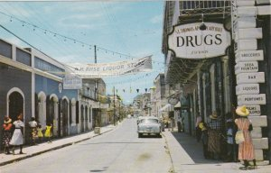 St Thomas Charlotte Amalie Main Street Scene sk3360