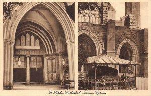 Cyprus Nicosia St Sophia Cathedral postcard