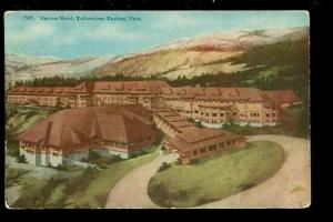 WY, Yellowstone National Park, Wyoming Canyon Hotel, H-H-T Company