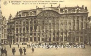 Brussels, Belgium, België, la Belgique, Belgien House of Old Duc of Brabant ...