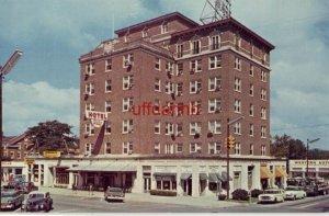 THE HOTEL WARE, WAYCROSS, GA. South Georgia's Finest Hotel. circa 1955