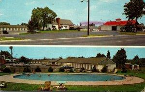 New Jersey Maple Shade Turnpike Motel & Gino's Drive-In Restaurant