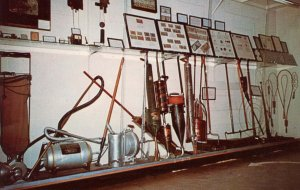 NE - Minden. Pioneer Village. Vacuum Cleaners Display
