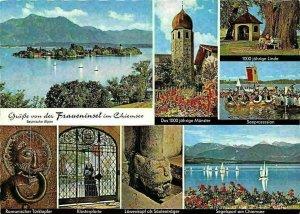 Fraueninsel im Chiemsee, Klosterpforte Romanischer Turklopfer, Seeprozession
