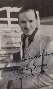 Dudley Beaven Royal Family Organist Woking Surrey WW2 Hand Signed Photo Postcard