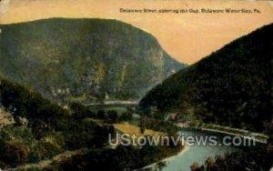 Delaware RIver - Delaware Water Gap, Pennsylvania