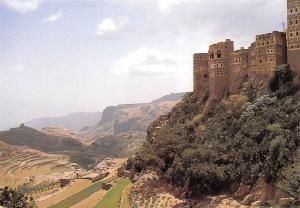 Yemen Yemen Village Panorama General view,,,