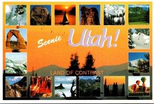 Utah Land Of Contrast Multi View 1988