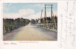 Massachusetts Lynn The Fishing  Bridge 100 Years Old