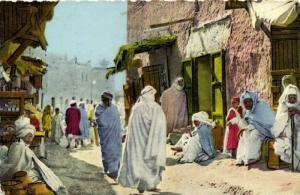 TUNISIE CPA .- SCENE & TYPES D'Afrique du nord  (148664)