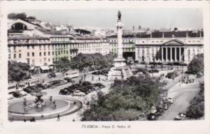 Portugal Lisboa Prado D Pedro IV 1954 Photo