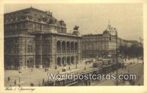 Wien, Vienna Austria, Österreich Opernring  Opernring