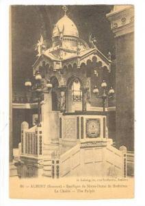 Albert (Somme), France,00-10s; Basilique de Notre-Dame de Brebieres La Chaire...