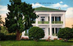 Louisiana Baton Rouge Goodwood House Built 1852 By Dr S G Laycock 1951