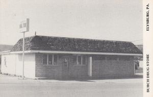 Burch Drug Store, Valley Ave. & Market St., Elysburg,  Pennslyvania, 1986