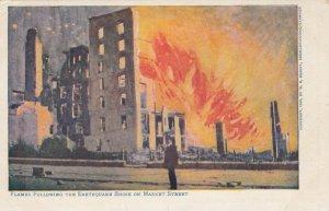 SAN FRANCISCO, California;  1906 ; Earthquake Damage #2