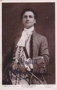RP: Stage Actor , Mr. Hayden Coffin as Tom Jones , 00-10s ; Autographed