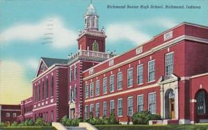 Indiana RIchmond Senior High School 1949 Curteich