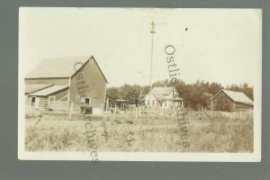 Redwood Falls MINNESOTA RPPC c1910 ADVERTISING Farm for Sale LAND COMPANY Sales