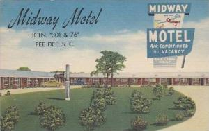 South Carolina Pee Dee Midway Motel