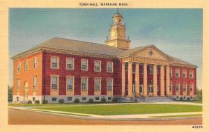 USA Town hall, Wareham Mass.