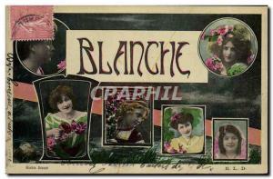 Old Postcard Fantasy White Surname
