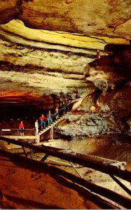 Kentucky Mammoth Cave Saltpetre Vats and Booth's Amphitheatre