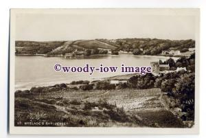 tq2010 - Jersey - Early View around Countryside of St. Brelade's Bay - Postcard