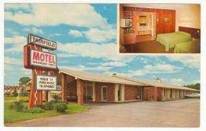 Fairfield Motel, Winnsboro, South Carolina, 40-60s