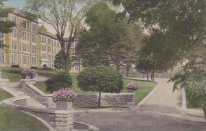 Kansas Atchison Mount St Scholastica College Looking North Across Campus