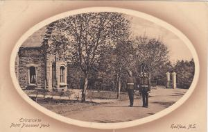 HALIFAX, Nova Scotia, Canada, 1900-1910´s; Entrance , Point Pleasant Park