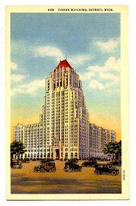 MI - Detroit. Fisher Building