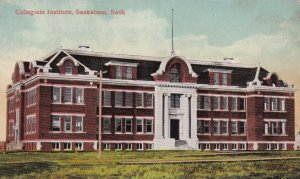 SASKATOON , Saskatchewan , Canada , 1900-10s ; Collegiate Institute