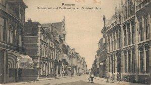 Netherlands Kampen Oudestraat met Postkantoor en Gotisch Huis 03.22