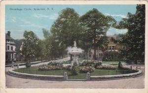 New York Syracuse Onondaga Circle