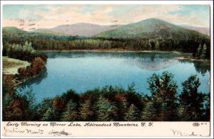 Mirror Lake, Adirondack Mts NY