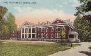 Michigan Jackson Odd Fellows Home Curteich