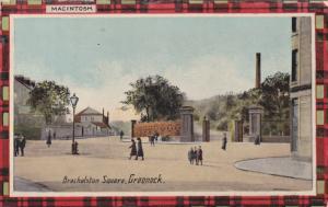 GREENOCK , Renfrewshire, Scotland, 00-10s ; Brachelston Square
