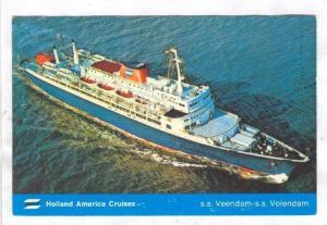 Holland America Cruises, S. S. Volendam, 1940-1960s