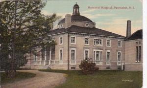 Rhode Island Pawtucket Memorial Hospital 1914