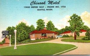 Washington Seattle Chinook Motel