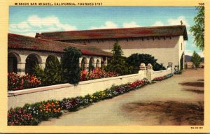 California Mission San Miguel Founded 1797