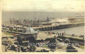 Pier Head & Gardens Clacton-on-Sea UK, England, Great Britain 1952