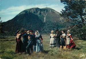 Ethnic Traditions Postcard French Folklore l Auvergne