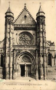 CPA COMPIEGNE - Facade de l'Église St-Antoine (291831)